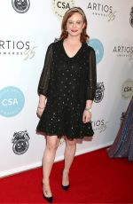 Thora Birch At 2020 Casting Society of Americas Artios Awards in Beverly Hills