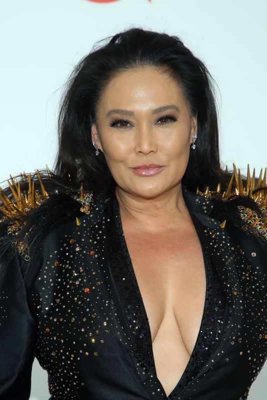 Tia Carrere At Elton John AIDS Foundation Oscar Viewing Party in West Hollywood
