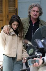 Tini Stoessel Seen out and about with her father in Madrid