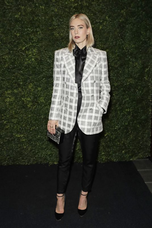 Vanessa Kirby At Charles Finch & Chanel Pre-BAFTA Party in London