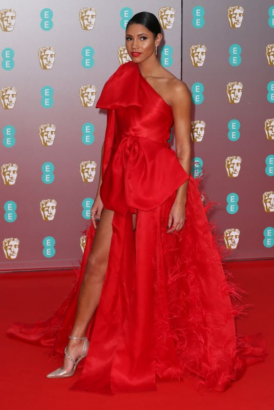 Vick Hope At 73rd British Academy Film Awards Royal Albert Hall & After Party at the Grosvenor House Hotel, London
