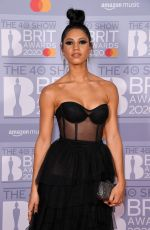 Vick Hope At Brit Awards Universal Music Afterparty at The Ned Hotel, London