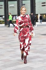 Vogue Williams Spotted looking fashionable while pictured at the ITV Studios in London