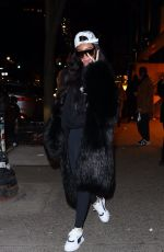 Winnie Harlow and Justine Skye are spotted club-hopping from Socialista to 1 Oak in New York