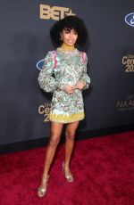 Yara Shahidi At 51st NAACP Image Awards in Pasadena