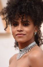 Zazie Beetz Attends the 92nd Annual Academy Awards in Los Angeles