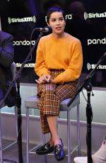 Zoe Kravitz At SiriusXM Studios in New York City