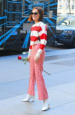 Zoey Deutch Steps out in red for Valentine