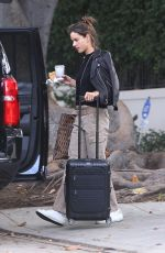 Alessandra Ambrosio Leaving her home in Brentwood