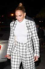 Alex Rodriguez & Jennifer Lopez Leaving the San Vicente Bungalows after dinner in West Hollywood