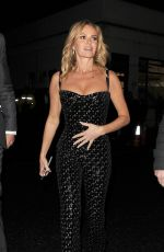 Amanda Holden Seen leaving the Hammersmith Apollo in London