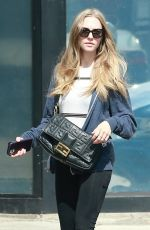 Amanda Seyfried At a cafe in Studio City