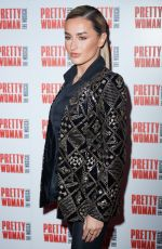 Amber Davies At Press Night for Pretty Woman at the Piccadilly Theatre, Denman Street, London
