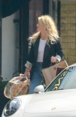 Amber Heard Out in Los Angeles