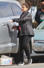 America Ferrera Steps out makeup-free in Studio City