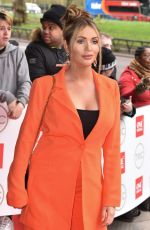 Amy Childs Attends the TRIC Awards 2020 at The Grosvenor House in London