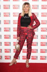 Amy Hart Attends the Press Night for Pretty Woman: The Musical at the Piccadilly Theatre in London