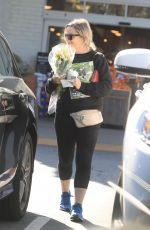 Amy Poehler Out buying flowers in Beverly Hills