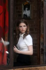 Anna Kendrick Filming HBO