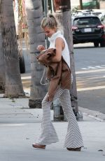 AnnaLynne McCord Arriving at her home in Los Angeles