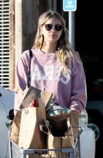 April Love Geary Finds time for a Grocery Run