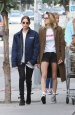 Ashley Benson, Cara Delevingne, and Kaia Gerber Shopping in West Hollywood