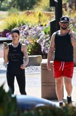 Ashley Greene Finishing her workout in Beverly Hills