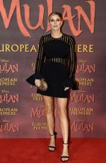"Ashley James At ""Mulan"" European Premiere in London"