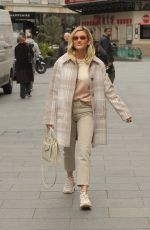 Ashley Roberts At Global Radio Studios in Harrow