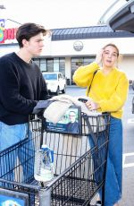 Bailee Madison Shopping in Studio City