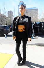 Bella Hadid Arrives at a Fashion Event in NYC