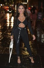 Bethan Kershaw, Chloe Ferry and Sophie Kasaei hit the Toon in Newcastle