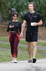 Camila Cabello Out with Shawn Mendes in Miami