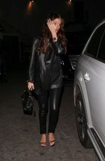 Camila Morrone Leaves after dinner at Madeo in Beverly Hills