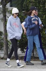 Cara Delevingne, Ashley Benson and Kaia Gerber out in Los Angeles