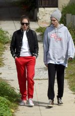 Cara Delevingne & Ashley Benson Out for a walk in LA
