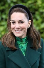 Catherine, Duchess of Cambridge During day one of her visit to Ireland in Dublin, Ireland