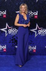 Charlotte Hawkins At The Global Awards, London