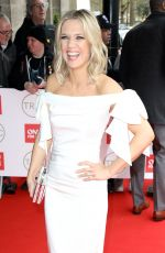 Charlotte Hawkins At The TRIC Awards, Arrivals, Grosvenor House, London