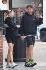 Charlotte McKinney Out for lunch in LA