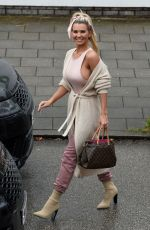 Christine McGuinness Out in Alderley Edge, Cheshire