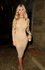 Christine McGuinness Pictured while leaving Peter Street Kitchen in Manchester
