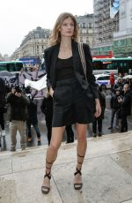 Constance Jablonski At Stella McCartney show, Arrivals, Fall Winter 2020, Paris Fashion Week, France