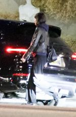 Dakota Johnson and Chris Martin enjoy a dinner date at Crossroads in Los Angeles