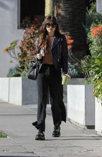 Dakota Johnson Grabs a healthy drink from Cha Cha Matcha in West Hollywood