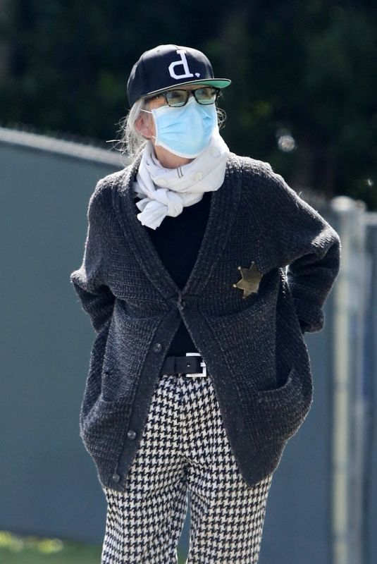 Diane Keaton At the new Masked Marshall in Town