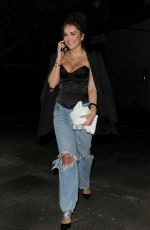 Elena Ora Seen leaving the Tings launch party at Laylow club in Notting Hill