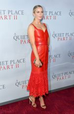 Emily Blunt At A Quiet Place Part II Premiere in NY