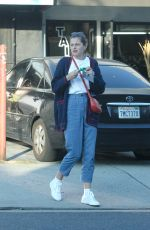 Emma Corrin Went for dinner at Petty Cash Taqueria in Los Angeles