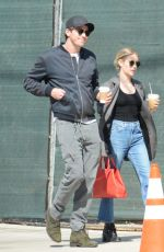 Emma Roberts & Garret Hedlund Are seen out & about in Los Feliz